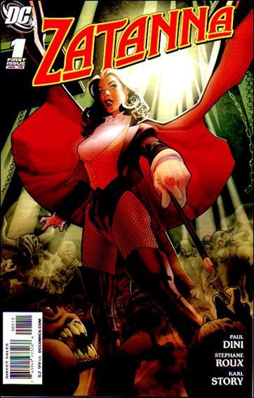 Zatanna (2010) 1-A by DC