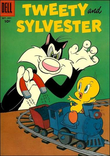 Tweety and Sylvester (1951) 14-A by Dell