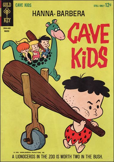 Cave Kids 4-A by Gold Key