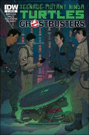 Teenage Mutant Ninja Turtles / Ghostbusters 1-B