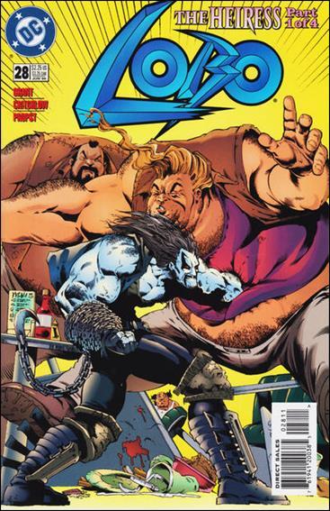 Lobo (1993) 28-A by DC