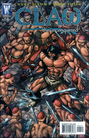 Claw the Unconquered (2006) 4-A by WildStorm