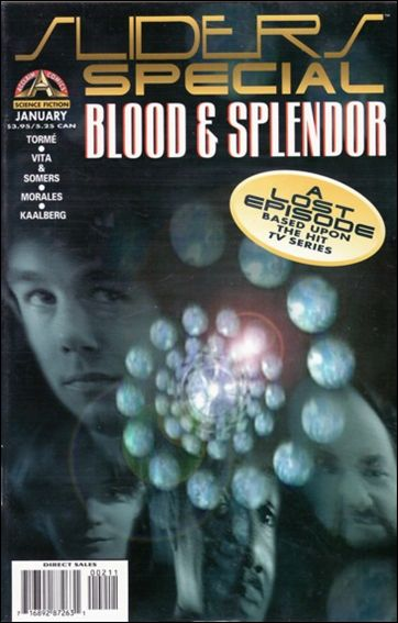 Sliders Special: Blood & Splendor 1-A by Acclaim