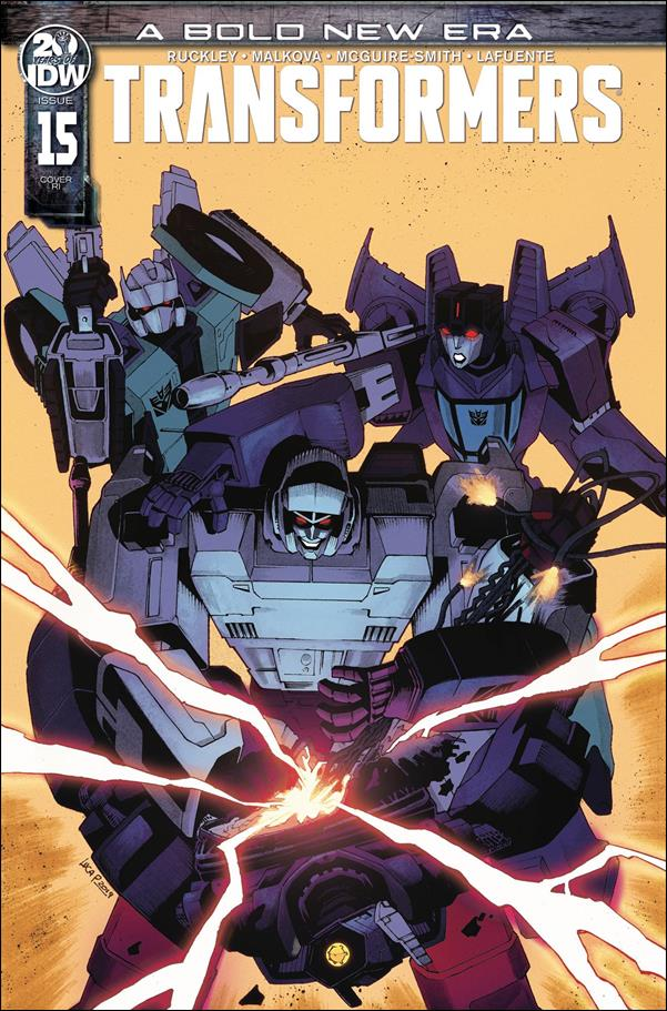 Transformers (2019) 15-C by IDW