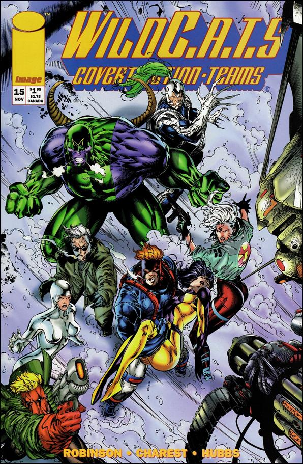 WildC.A.T.s: Covert Action Teams 15-A by Image
