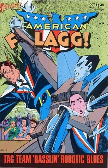 American Flagg! (1983) 34-A by First
