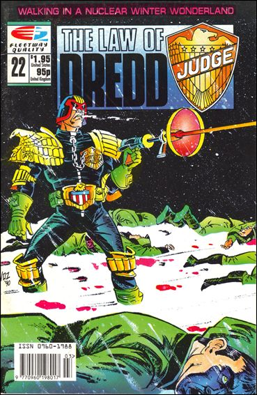 Law of Dredd 22-A by Fleetway Quality