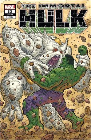 Immortal Hulk 33-F