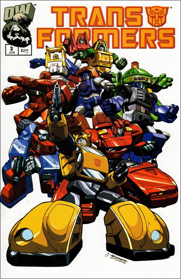 Transformers: Generation 1 (2002) 3-A by Dreamwave