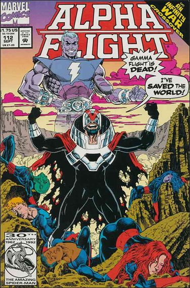 Alpha Flight (1983) 112-A by Marvel