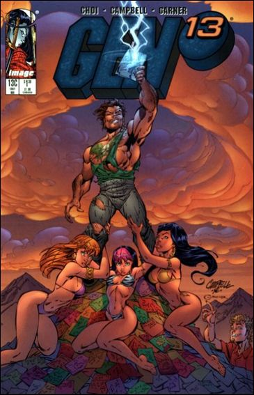 Gen13 (1995) 13C-A by WildStorm