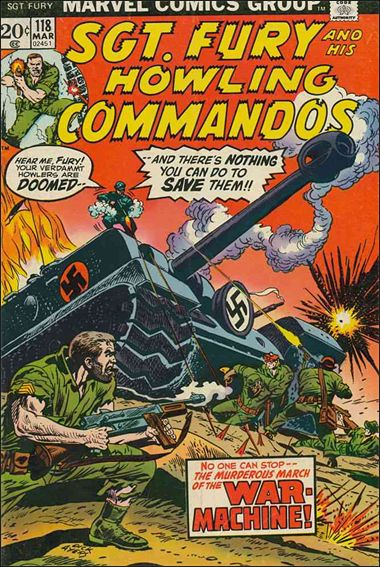 Sgt. Fury and His Howling Commandos 118-A by Marvel