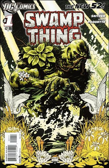 Swamp Thing (2011) 1-A by DC