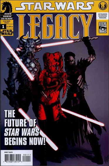 Star Wars: Legacy (2006) 1-A by Dark Horse