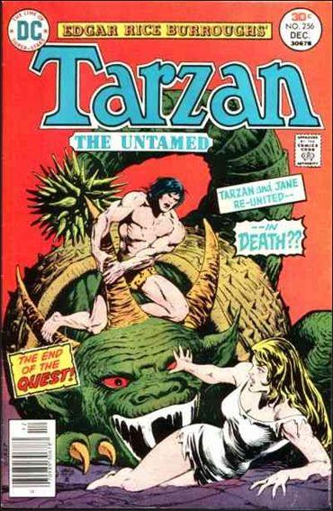 Tarzan (1972) 256-A by DC