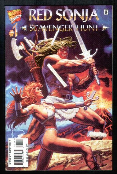Red Sonja: Scavenger Hunt 1-A by Marvel