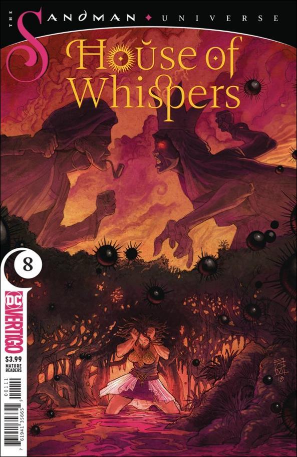 House of Whispers 8-A by Vertigo