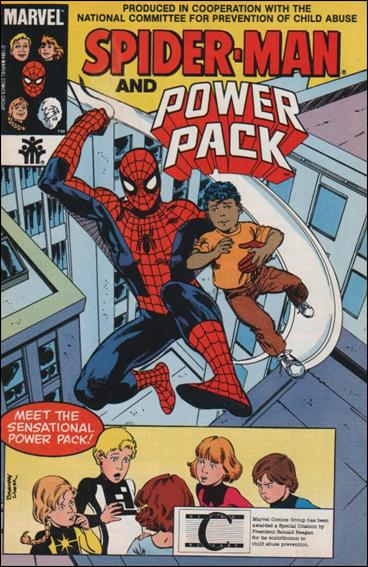 Spider-Man, Power Pack 1-D by Marvel