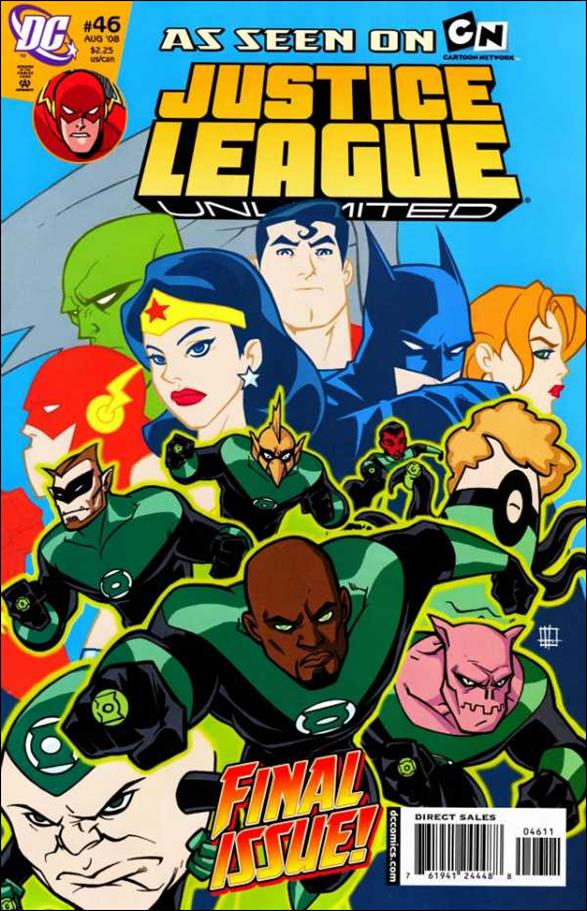 Justice League Unlimited 46-A by DC