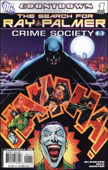 Countdown Presents: The Search for Ray Palmer: Crime Society 1-A by DC