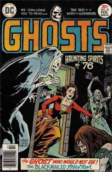 Ghosts (1971) 51-A by DC