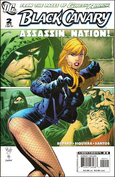 Black Canary (2007) 2-A by DC