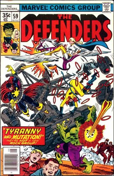 Defenders (1972) 59-A by Marvel