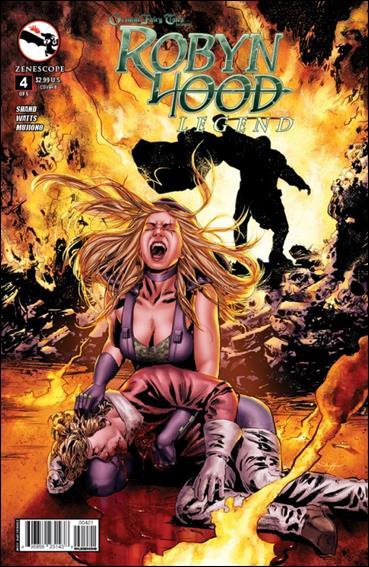 Grimm Fairy Tales Presents Robyn Hood: Legend 4-B by Zenescope Entertainment