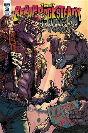 Teenage Mutant Ninja Turtles: Bebop & Rocksteady Hit The Road 3-B