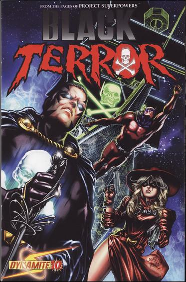 Black Terror (2008) 10-B by Dynamite Entertainment
