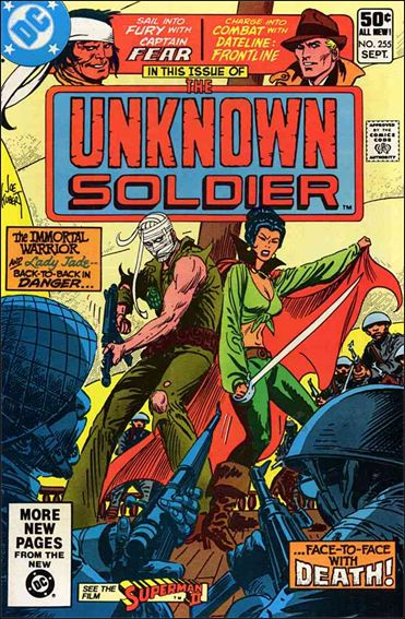 Unknown Soldier (1977)  255-A by DC