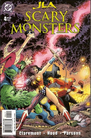 JLA: Scary Monsters 4-A by DC