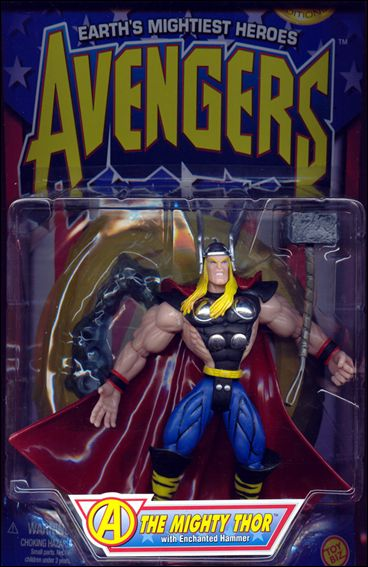 Avengers (1997) Thor (w/ Enchanted Hammer) by Toy Biz