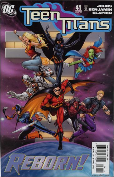 Teen Titans (2003) 41-A by DC