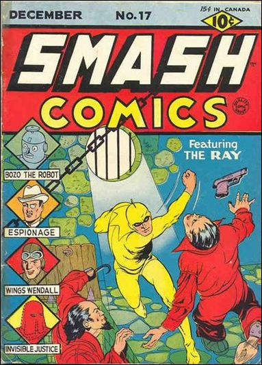 Smash Comics (1939) 17-A by Quality