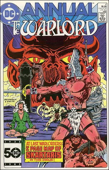 Warlord Annual 4-A by DC