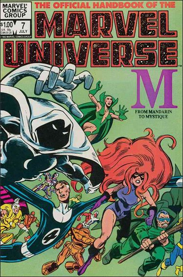 Official Handbook of the Marvel Universe (1983) 7-A by Marvel