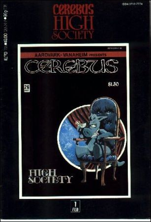 Cerebus: High Society 1-A by Aardvark-Vanaheim