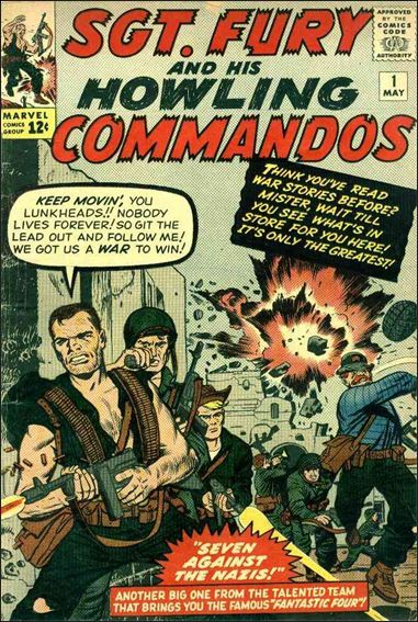 Sgt. Fury and His Howling Commandos 1-A by Marvel