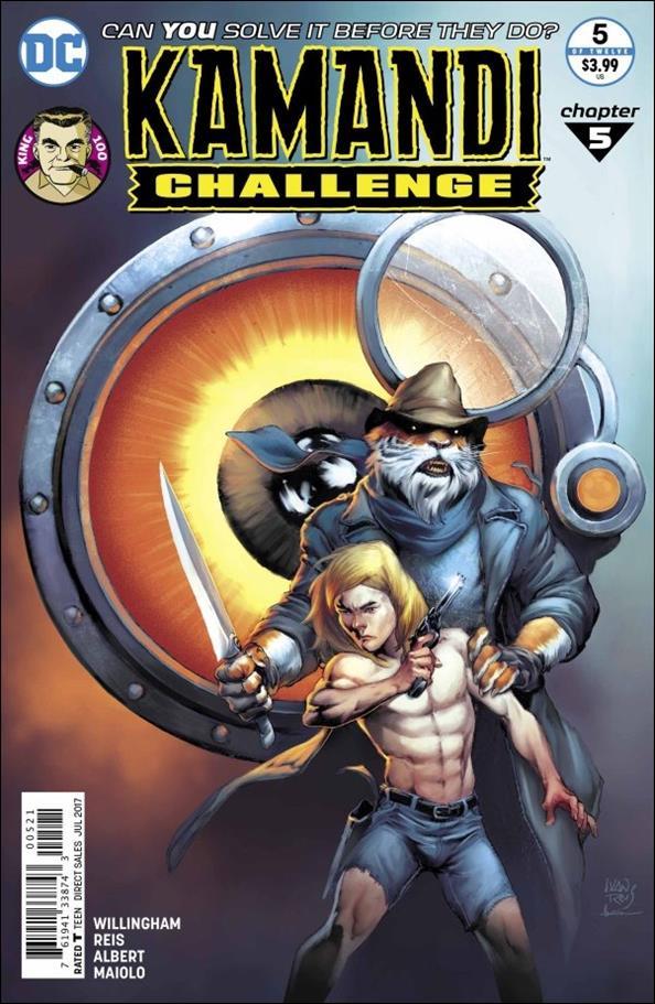 Kamandi Challenge 5-B by DC