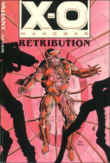 X-O Manowar: Retribution 1-A by Valiant