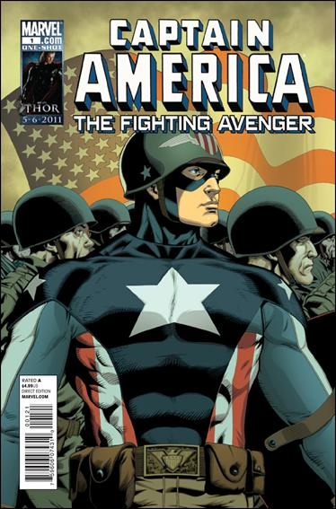 Captain America: Fighting Avenger 1-B by Marvel