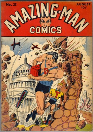 Amazing Man Comics 23-A by Centaur Publications Inc.