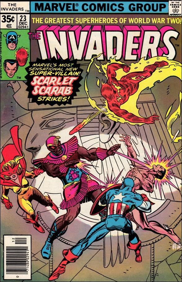 Invaders (1975) 23-A by Marvel