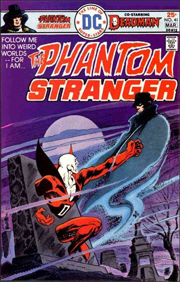 Phantom Stranger (1969) 41-A by DC