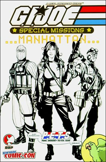 G.I. Joe: Special Missions: Manhattan 1-B by Devil's Due