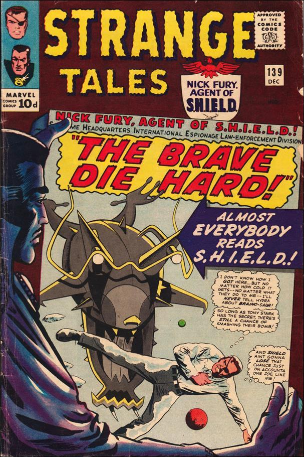 Strange Tales (1951) 139-B by Marvel