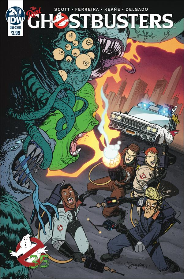 Ghostbusters 35th Anniversary: The Real Ghostbusters One-Shot-A by IDW