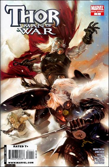 Thor: Man of War 1-A by Marvel