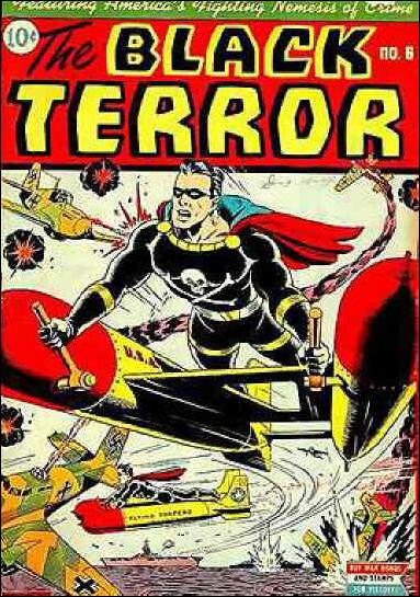 Black Terror (1942) 6-A by Nedor